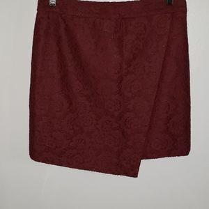 Madewell Lace Wrap Skirt NWT